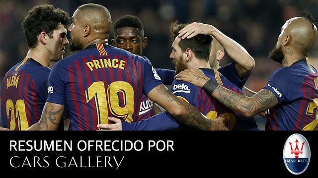 Este es el resumen de todo lo que dio de sí el Barça-Valladolid