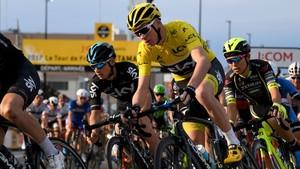 Froome , vigente campeón del Tour