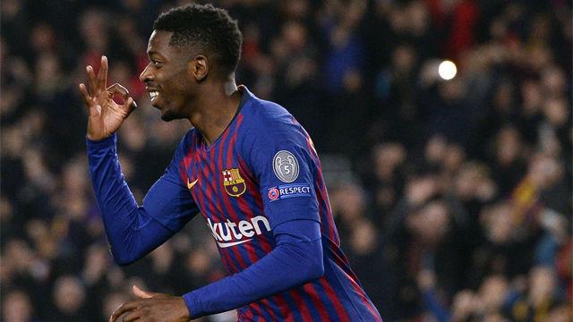 El gol de Dembélé en el Barça-Tottenham