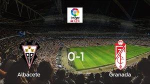 El Granada se impone por 0-1 al Albacete