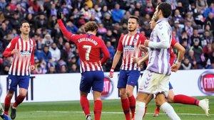 Griezmann celebró bailando sus dos goles