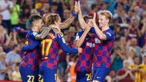 Griezmann y De Jong insuflan energías renovadas para volverse a ilusionar con la Champions League