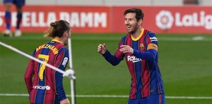 Griezzman y Messi, de vuelta al once titular