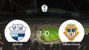El Güímar gana 1-0 en su estadio ante el Santa Úrsula