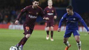 Hazard siente una gran admiración por Messi