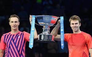 Henri Kontinen y John Peers, flamantes campeones del Masters de dobles