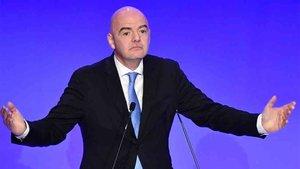 Infantino y la FIFA pueden proihibir el Girona - Barcelona en Miami