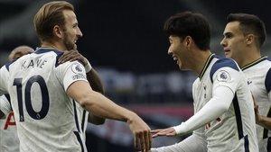 Kane y Son se han convertido en la cuarta pareja que más goles han producido juntos en la historia de la Premier.