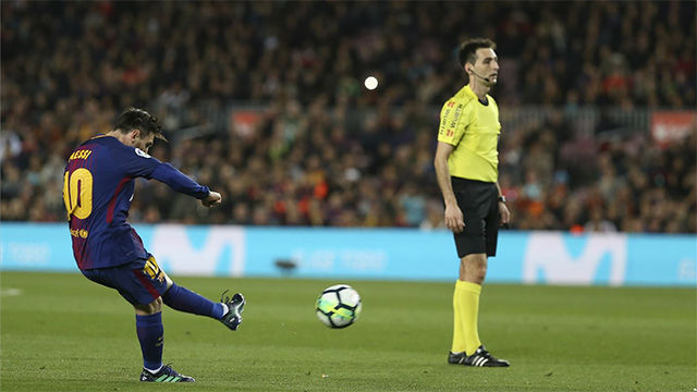 LALIGA | FC Barcelona - Leganés (3-1): Messi volvió a anotar con un gra ndisparo de falta