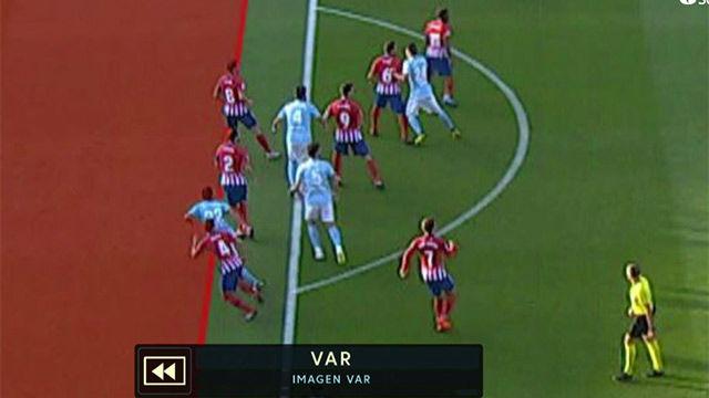 LALIGA | Celta - Atlético de Madrid (2-0): El VAR anuló el gol de Cabral