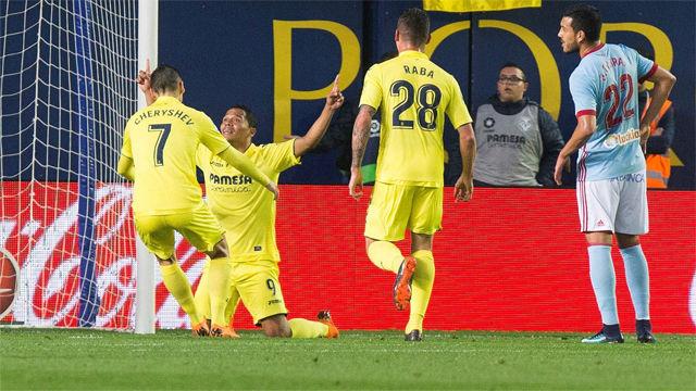 LALIGA | Villarreal - Celta (4-1): El hat-trick de Bacca