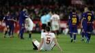 Lenglet sufrió a Leo Messi