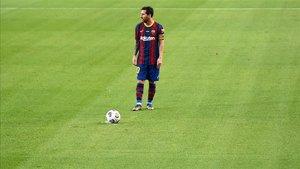Leo Messi inicia su decimoséptima temporada en el primer equipo del Barça