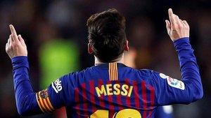 Leo Messi es máximo goleador de la temporada