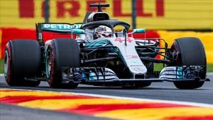El líder del Mundial de F1, Lewis Hamilton
