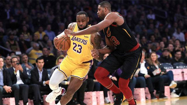 Los Lakers abusaron de Cleveland