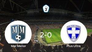 El Mar Menor vence 2-0 en su estadio frente al Plus Ultra