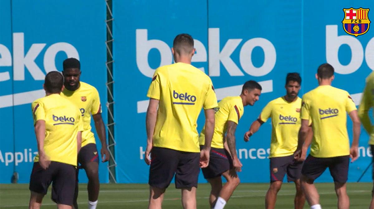 Messi y Ansu Fati siguen entrenando al margen del grupo