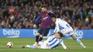 Messi y el Barcelona están cerca del título de Liga