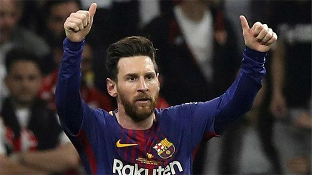 Messi marcó el segundo gol del partido. Así lo narraron en las radio