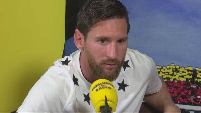Messi: La salida de Cristiano hace menos bueno al Madrid