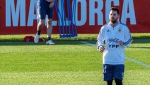 Messi vuelve al once de la albiceleste