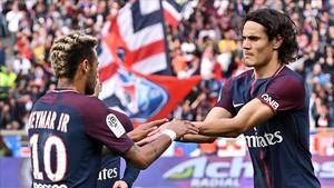 Neymar y Cavani sellaron la paz