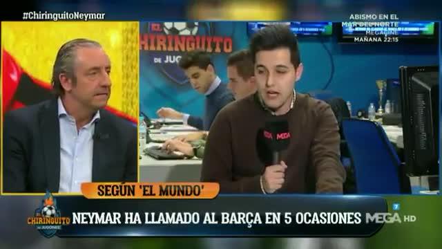 Neymar parece que desea volver al FC Barcelona