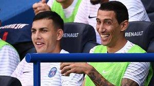 Paredes y Di María serían los positivos en el PSG