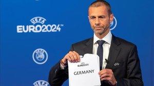 La prensa turca acusa a Ceferin de manipular el voto para la Eurocopa 2024