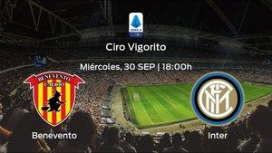 Previa del encuentro: primer partido de la Serie A para el Benevento contra el Inter