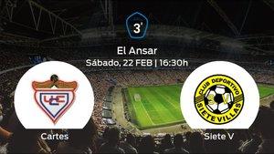 Previa del partido de la jornada 26: UC Cartes contra Siete Villas