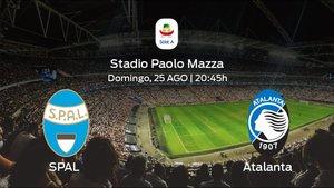 Previa del partido: el SPAL comienza el campeonato recibiendo al Atalanta