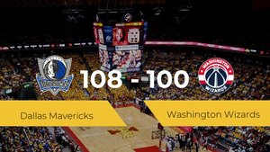 Primera jornada de la NBA: Dallas Mavericks 108 - 100 Washington Wizards
