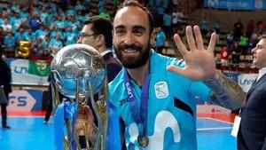Ricardinho consiguió un nuevo título con Movistar Inter