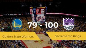 Sacramento Kings consigue vencer a Golden State Warriors en el Chase Center (79-100)