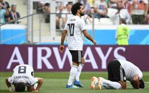 Salah ha defendido a su compañero de selección