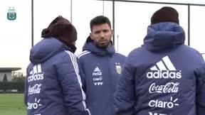 Sampaoli quiere que la selección de Argentina juegue como el Barça