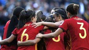 La selección española femenina se proclamó campeona del mundo sub 17