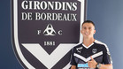 Sergi Palencia luciendo la camiseta del Girondins de Burdeos