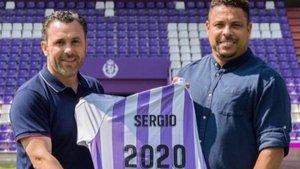 Sergio González y Ronaldo, un tándem que funciona en Valladolid