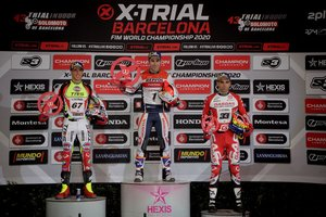 Toni Bou lideró el podio en el Sant Jordi