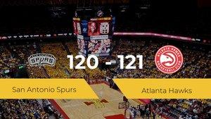 Triunfo de Atlanta Hawks en el At&T Center ante San Antonio Spurs por 120-121