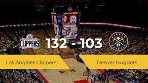 Triunfo de Los Angeles Clippers en el Staples Center ante Denver Nuggets por 132-103