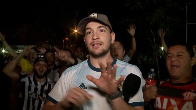 El troleo de los brasileños a un aficionado argentino