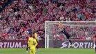 Unai y el larguero evitaron el gol del Barça