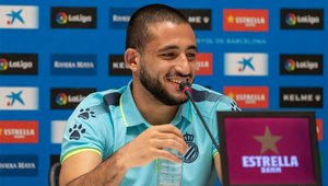 Vargas ya debutó con el Espanyol en Europa League con un golazo