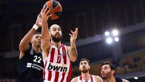 Vassilis Spanoulis, la pasada temporada contra el Real Madrid