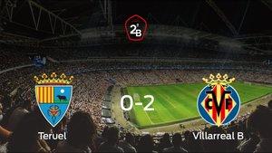 El Villarreal B se lleva tres puntos a casa después de derrotar 0-2 al Teruel