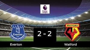 El Watford saca un punto al Everton en su casa 2-2